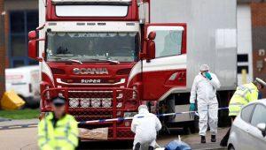 TIR'ın içinde bulunan 39 cesetin gizemi ortaya çıktı!