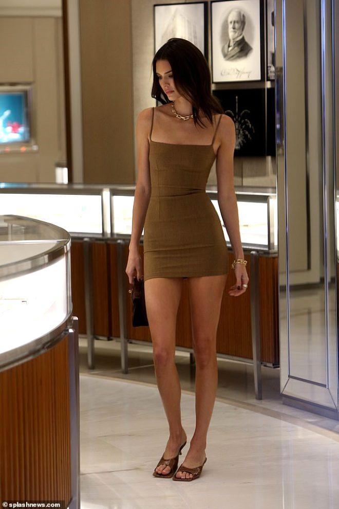 Ateşli model Kendall Jenner'a Türk dokunuşu! Güzelliğiyle mest etti