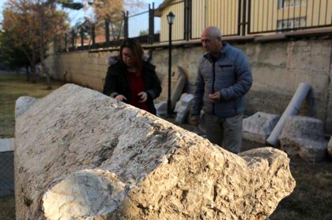 Çorum'da ürküten keşif! Yol çalışmasında 2 bin yıllık insan iskeleti bulundu