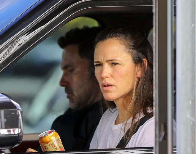 Ünlü oyuncu Ben Affleck, eski eşi Jennifer Garner'la sokak ortasında kavga etti!