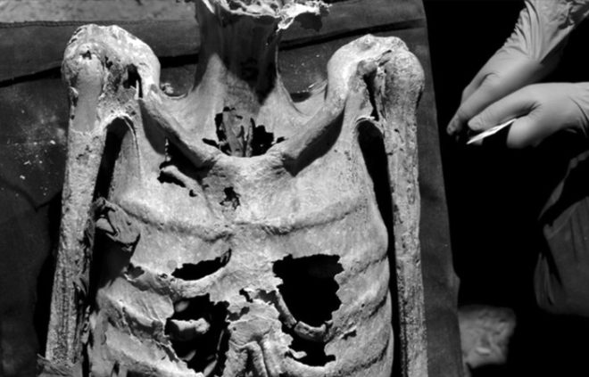 Mumyaların dövmeleri olduğu ortaya çıktı