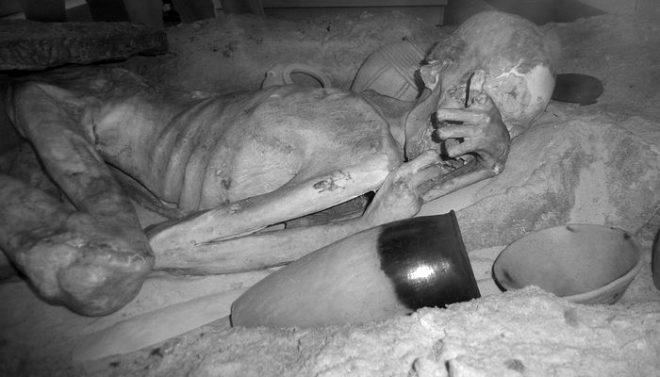 3 bin yıllık mumyaların üzerinde bulundu! Sadece kızılötesi ışınlarla görülüyor