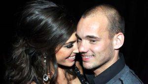 9 yıllık evlilikleri bitmek üzereydi! Yolanthe'nin Sneijder'e sunduğu barışma şartı şaşırttı