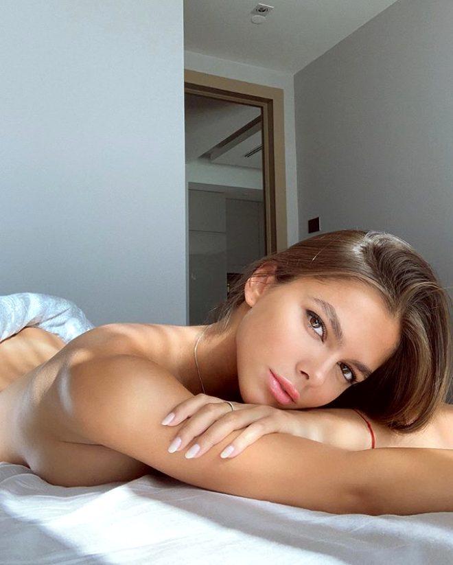 Ateşli Rus model Viktoria Odintcova'dan, Ronaldo hakkında bomba iddia: Bana Instagram'dan yürüdü!