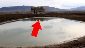 Sivas'ta şaşırtan keşif! Sular çekilince ortaya çıktı