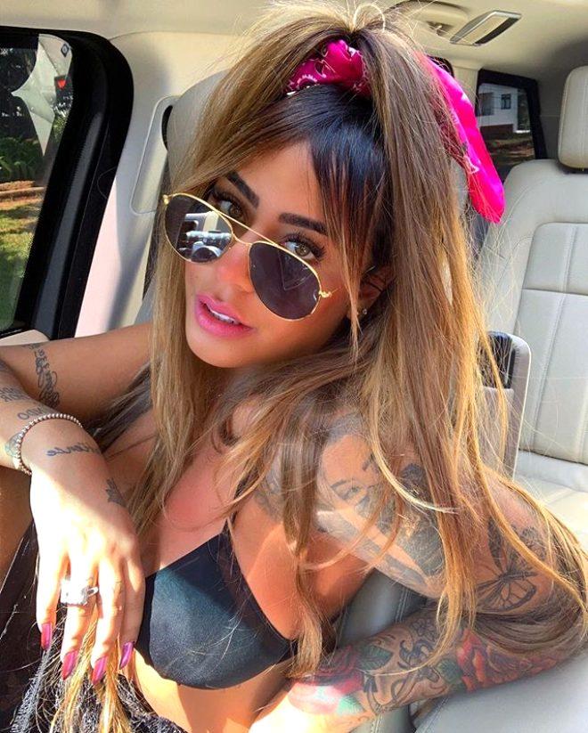 Ünlü futbolcu Neymar'ın kız kardeşi modelleri aratmıyor! Instagram pozları yürek hoplattı