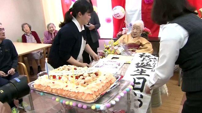 Hala turp gibi! Dünyanın en yaşlı kadını Kane Tanaka, 117. doğum gününü kutladı