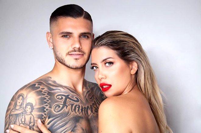 Yıldız futbolcu Mauro Icardi'nin eşi Wanda Nara duş pozuyla yürek hoplattı!