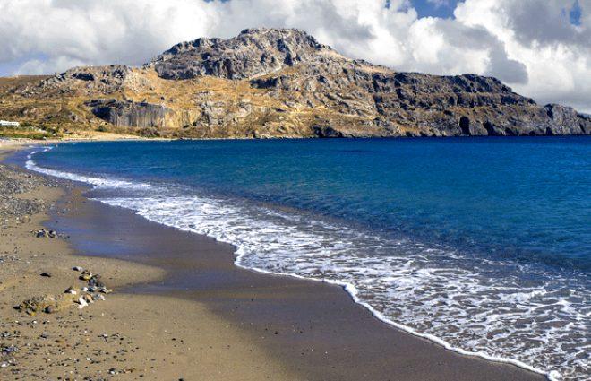 Plakias Plajı, Girit, Yunanistan