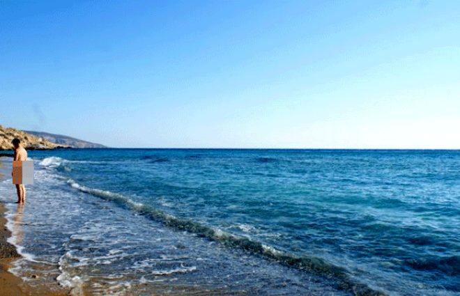 Kızıl Plaj, Girit, Yunanistan