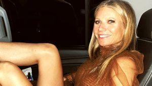 Ünlü oyuncu Gwyneth Paltrow, cinsel organ kokulu mum çıkardı