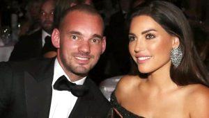 Sneijder'dan, Yolanthe'ye ihanet golü! Bu kez dudak dudağa yakalandı
