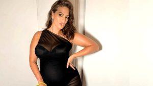 Büyük beden model Ashley Graham Instagram'ından anne olduğunu duyurdu