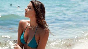 Futbolcu Javier Hernandez'in eşi Sarah Kohan hem güzelliği hem yeteneğiyle büyülüyor
