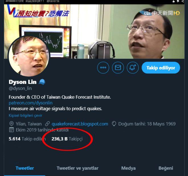 Tayvanlı deprem kahini Dyson Lin, Türkiye'de fenomen oldu! Meğer Hoogerbeets'in de hocasıymış!