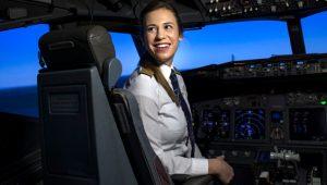29 yaşında kaptan pilot oldu! İşte THY'nin gururu Selin Sevimli!