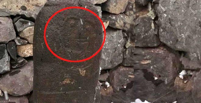 Hayvanlarını otlatırken tesadüfen buldu! 2 bin 500 yıllık 'Taşbaba' heykeli büyüledi