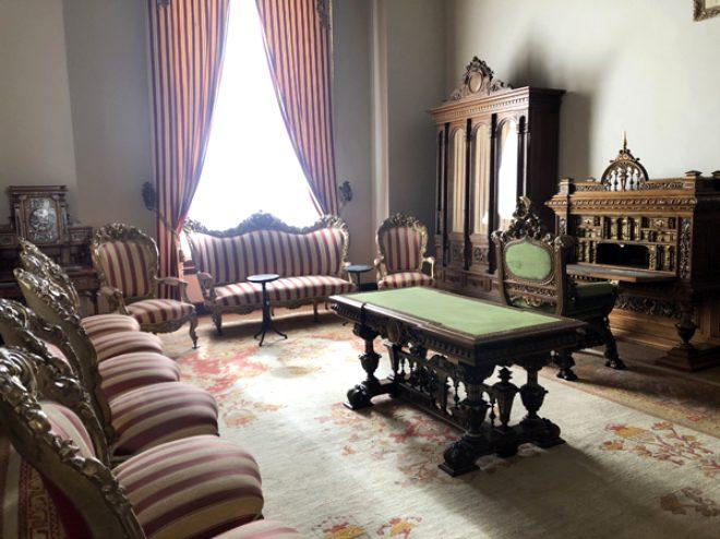 Sultan Abdülhamid Han'ın, 6 yıl hapis hayatı yaşayıp vefat ettiği oda görüntülendi
