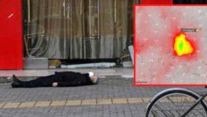 Tüyler ürperten uydu görüntüsü! Katil virüsün sıfır noktası Wuhan'ın üzerine ceset bulutu çöktü