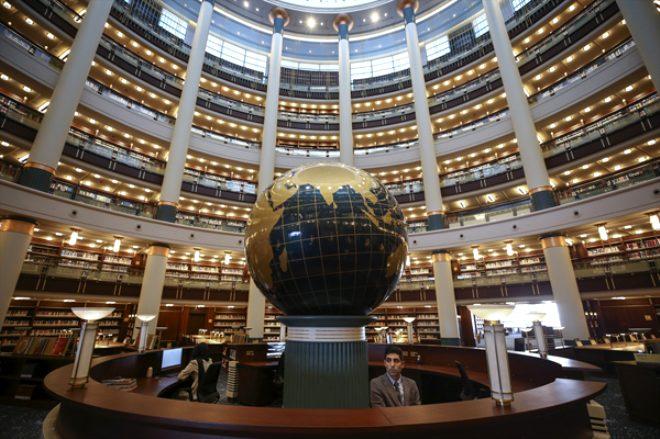 Cumhurbaşkanı Erdoğan'ın, açılışını yapacağı Millet Kütüphanesi'ndeki 16 sütun bakın ne anlama geliyor!