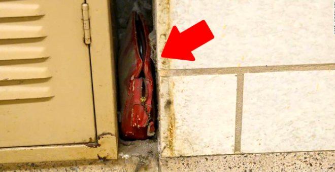 Tadilat yaparken okulun duvarında tesadüfen bulunan 63 yıllık cüzdanın içinden çıkanlar şoke etti