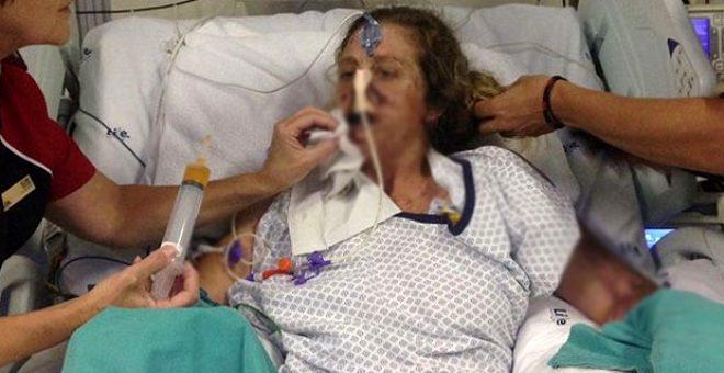 Firavun faresi tarafından ısırılan kadın, uzuvlarını kaybetti