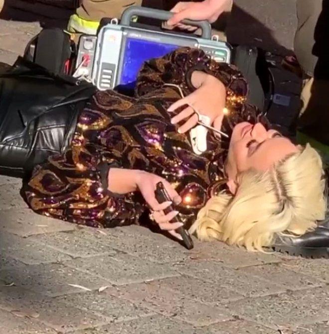 Program çekimi sırasında baygınlık geçiren Katy Perry o anları paylaştı