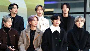 Tüm dünyayı kasıp kavuran müzik grubu BTS, koronavirüsten dolayı albüm tanıtımını bomboş salonda yaptı