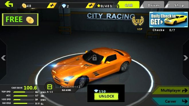 VMOWO City: Speed Racing 3D