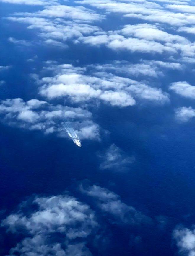 Türk donanmasının havadaki gözü P235 Deniz Karakol Uçağı böyle görüntülendi