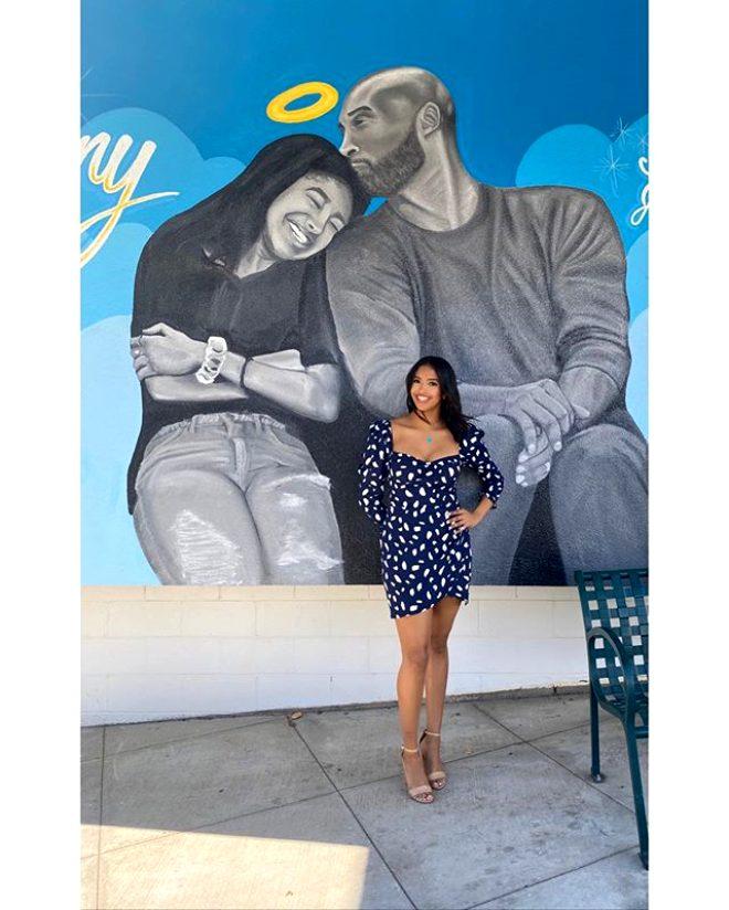 Helikopter kazasında hayatını kaybeden Kobe Bryant'ın kızı Natalia'dan tepki çeken fotoğraf!