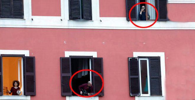 Dünyada koronavirüs sonrası çılgın akımı! İnsanlar balkona çıkıp şarkı söylüyor