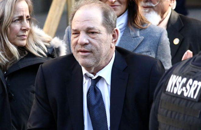 Tecavüz ve cinsel saldırı suçundan 23 yıl ceza alan yapımcı Harvey Weinstein koronavirüse yakalandı