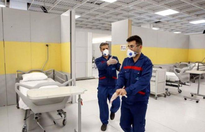 İran, dünyanın en büyük AVM'sini koronavirüs hastanesine çevirdi