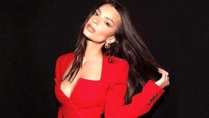Ünlü model Emily Ratajkowski'nin yayınında Türk takipçinin yaptığı yorum olay oldu: Göğüslerini göremiyorum
