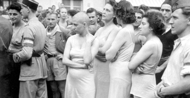 Tarihin karanlık sayfası: Alman askerlerle cinsel ilişkiye giren Fransız kadınların saçları kazıtıldı