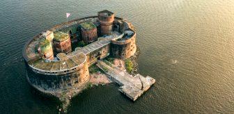 Denizin ortasında sırlarla dolu veba kalesi: Fort Alexander
