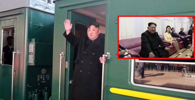 Dünyanın merak ettiği lider Kim Jong-un'un zırhlı zevk treni: Lüks lezzetler, harem ve eğlence!