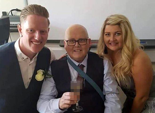 İngiliz gelin düğün gününde ölmüş babasının küllerini tırnaklarına koydurdu
