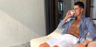 3'üncü kez karantinaya giren Cristiano Ronaldo'nun şehri ayaklar altına alan süper villası!