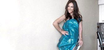 Karantina çılgınlığı dur durak bilmiyor! Çöp poşetinden elbise yaptılar