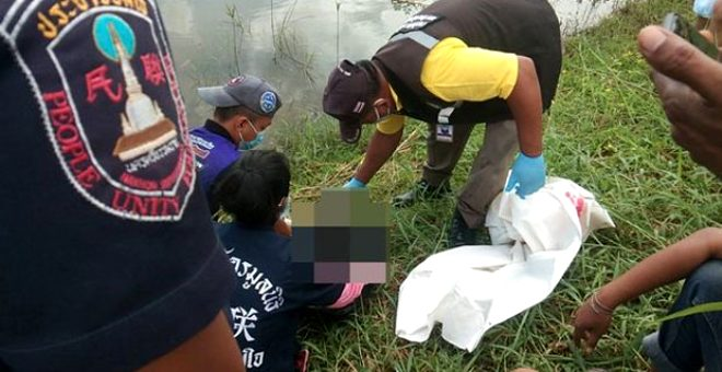 Tayland'da bir göletin kenarına bırakılan yeni doğmuş bebeği, dev kertenkele yedi