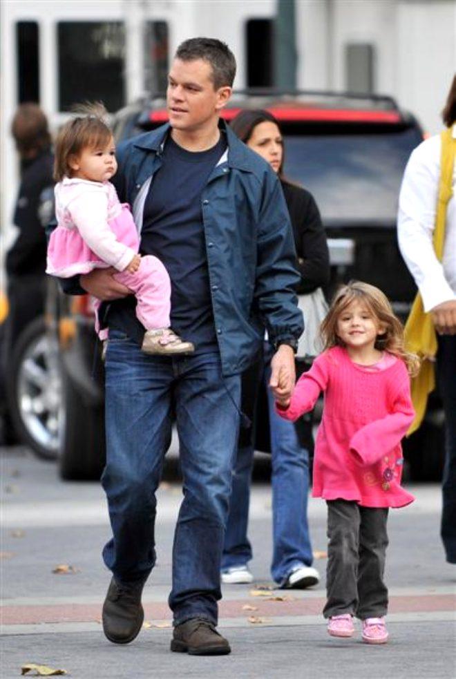 Ünlü oyuncu Matt Damon'ın kızı koronavirüse yakalandı