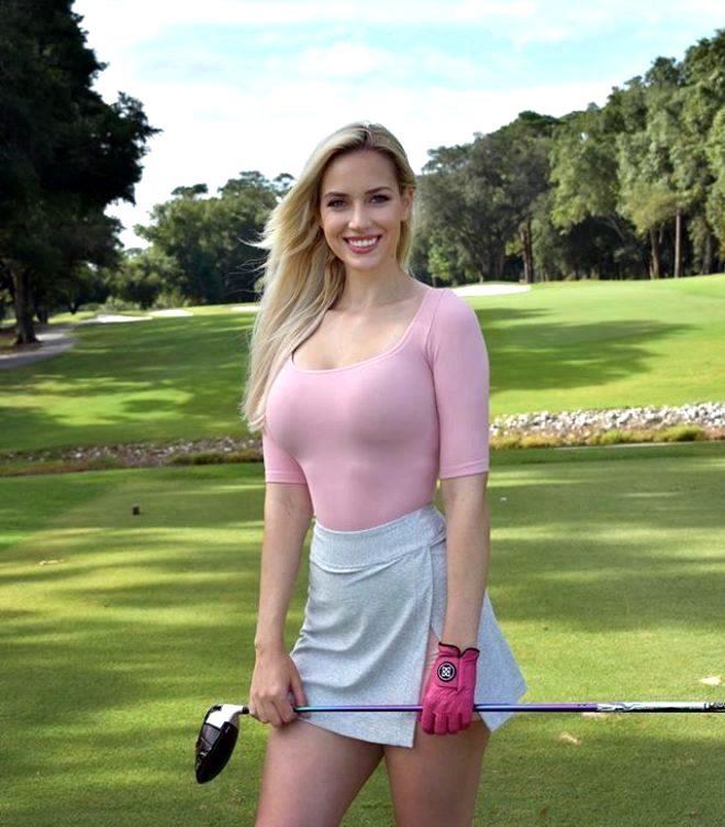 Golf dünyasının yürek hoplatan ikilisi Paige Spiranac ve Holly Sonders, yardım maçında karşı karşıya gelecek