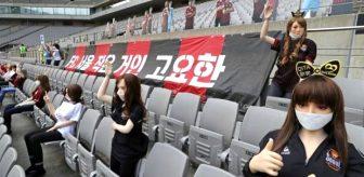 Güney Kore'de tribüne cinsel ilişki oyuncakları yerleştiren kulübe rekor ceza! Lig tarihine geçti