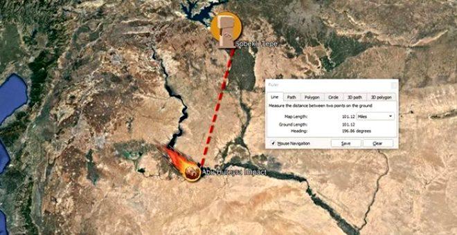 Atmosferde patlayan kuyruklu yıldız, Suriye'deki 13 bin yıllık köyü yok etti