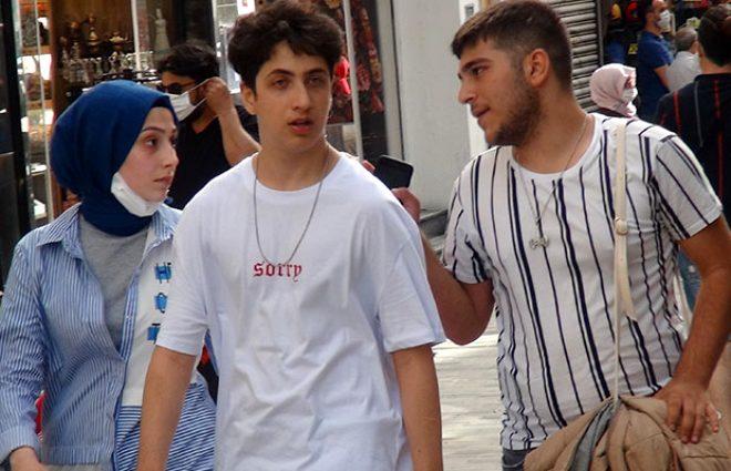 İstanbul'un göbeğinde pes dedirten kareler! Biz, maske takma olayını çok yanlış anladık