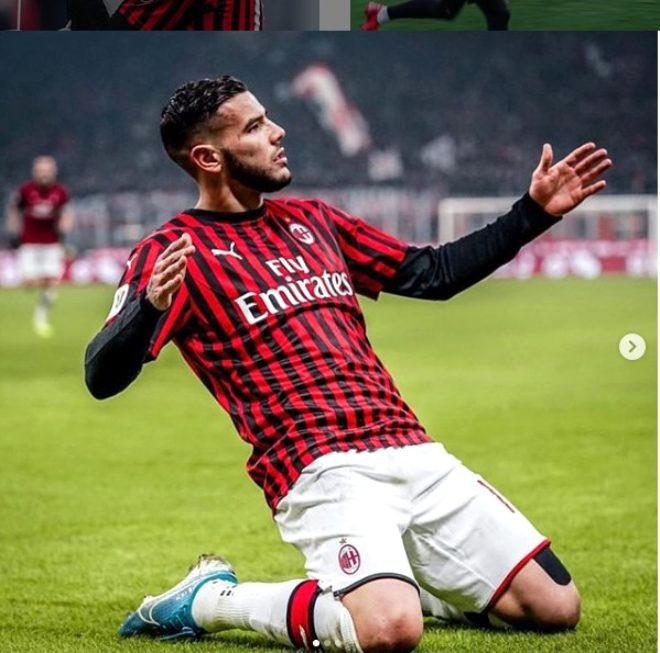 Beğenileri, aşkını ele verdi! Yıldız futbolcu Theo Hernandez gönlünü dövmeli güzele kaptırdı