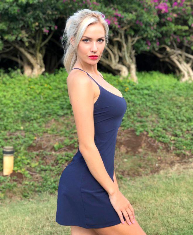Frikiklere aldırış etmeyen güzel golfçüden cesur sözler: Sahada iç çamaşırı giymiyorum