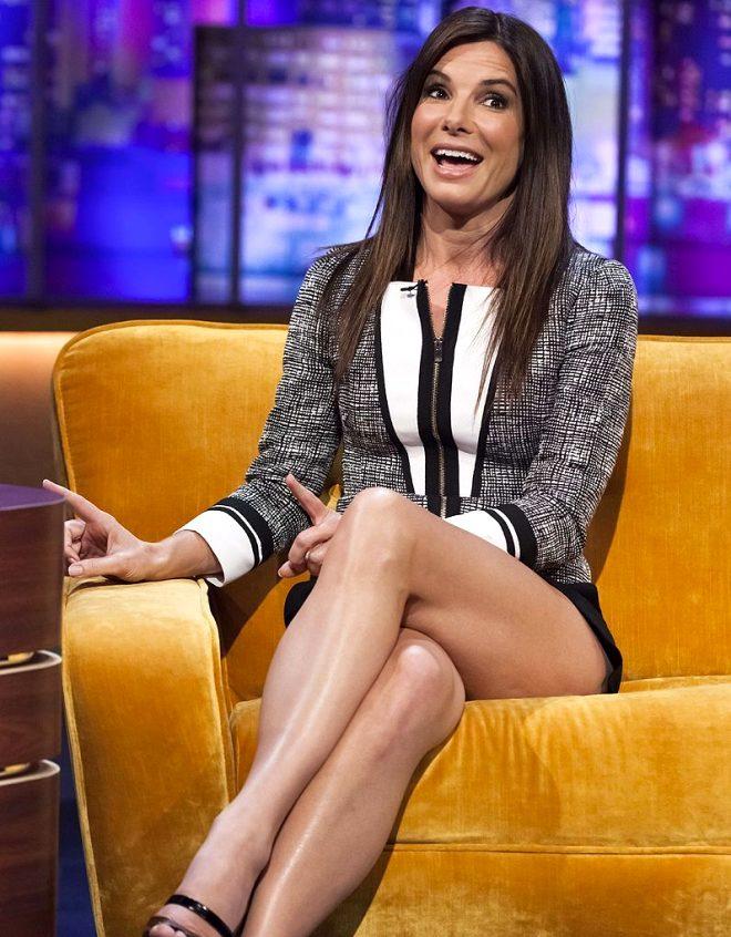 55 yaşındaki ünlü oyuncu Sandra Bullock'tan canlı yayında kan donduran itiraf: Genç kalmak için çocuk derisi enjekte ettiriyorum